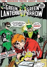 GREEN LANTERN GREEN ARROW 85 COVER PRINT Speedy Drug Story