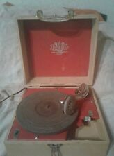 Vintage Antique  Record Player byPAL Trademark Plaza Manufacturing Co. New York