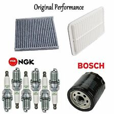 Tune Up Kit Cabin Air Oil Filters Spark Plugs for Lexus ES330 2004-2006