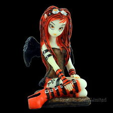 *CRIMSON* Gothic Fantasy Art Resin Fairy Figurine By Myka Jelina