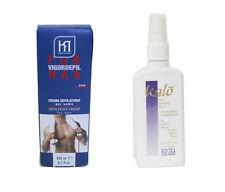 MENS BODY CHEST BACK LEG HAIR REMOVAL PRODUCTS + EPILATING SPRAY REDUCES GROWTH