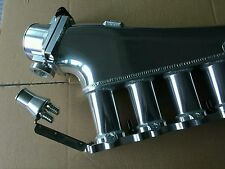 ProFlow Rb20det billet intake manifold w/ fuel rail and 90mm throttle rb20