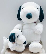 Genuine KAWS x Peanuts Snoopy Plush M and S Size Set Already Sold Out item