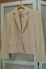 Vintage COURREGES Paris Blazer Zig Zag Textured Wool Blend Jacket EU38/M EUC