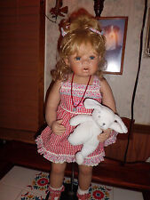 "Monika Levenig 28"" tall ""Misha"" porcelain doll by Masterpiece  w/coa 181/750"