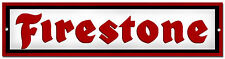 FIRESTONE TYRES METAL SIGN,RETRO,GARAGE METAL SIGN,WORKSHOP SIGN.