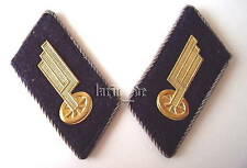DDR Deutsche Reichsbahn Uniform Kragenspiegel East german Railroad collar tabs