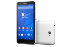 "Brand New SONY XPERIA E4 E2105 5"" 8GB WHITE unlocked Sim free smartphone Genuine"
