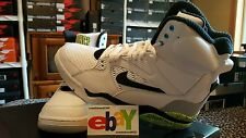 Nike Air Command Force Pump 8/13/2014 WHITE/BLACK-WOLF GREY-VOLT 684715 100