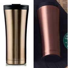 2017 Starbucks Stainless Steel Double layers Vacuum Thermos Coffee Travel Mug