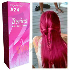Berina Permanent Color Hair Dye Cream Magenta # A24 Free Shipping!!