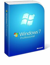DVD CD Windows Win 7 Professional 64 bit con PRODUCT KEY LICENZA