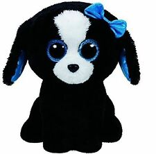 """TY Beanie Babies Boo's Tracey Dog Stuffed Collectible Plush Toy 6"""" NEW"""