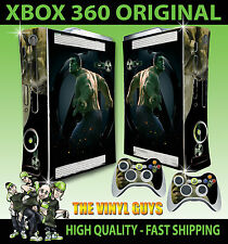 XBOX 360 INCREDIBLE HULK AVENGER 02 BRUCE BANNER STICKER SKIN & 2 PAD SKINS