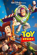 TOY STORY MOVIE POSTER 1 Sided RARE ORIGINAL 27x40 DISNEY TIM ALLEN TOM HANKS