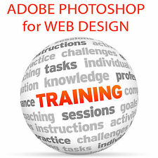 Adobe photoshop for web design-video training tutorial dvd
