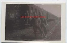 WW2 99th Division named Medical Detachment 370th field ARTILLERY p64 train