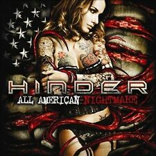 The  All American Nightmare by Hinder (CD, Dec-2010, Universal)
