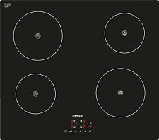 SIEMENS iQ100 EH611BA18E Electric Induction 4 zone hob black glass COOKTOP