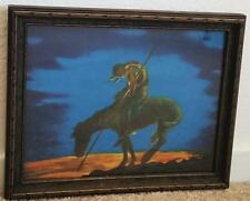Original 1920 End of Trail 8 1/4 x 10 1/4 Art Print Indian Horse Picture