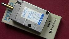 Electrovanne Pneumatique   PFH- 3-1/4-S  MAGNETVENTIL  FESTO 7959