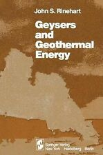Geysers and Geothermal Energy by John S. Rinehart (2011, Paperback)