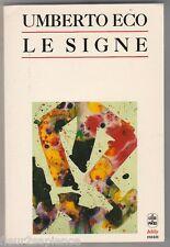 LE SIGNE Umberto Eco