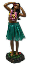 "Hawaiian Dashboard Hula Girl Doll Dance Pose Aloha Hawaii Island 7"" Wiggles NIB"