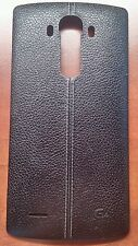 Official LG G4 Genuine Leather Battery Rear Housing Back Case Cover All Carriers