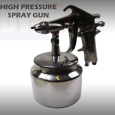 HIGH PRESSURE AIR SPRAY PAINT GUN BODYSHOP TOOL HIGH PRESSURE AIR CHROME TY18