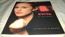 The Making of Evita by Alan Parker (1997, Paperback) Madonna