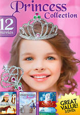 Princess Collection: 12 Movies (DVD, 2014, 3-Disc Set) GIRLS HORSES DOGS UNICORN