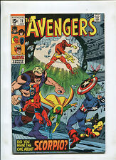 THE AVENGERS #72 (8.5) 1ST ZODIAK