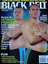 3/05 BLACK BELT RANDY COUTURE CHUCK LIDDELL MAS OYAMA KARATE KUNG FU MARTIAL ART