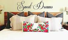 sweet dreams  quote vinyl transfer decal sticker Mural Decor wall art