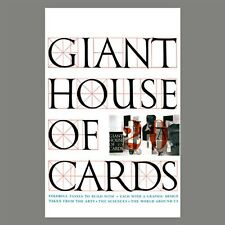 Charles and Ray Eames Giant House of Cards by Ravensburger- NEW-Shrink Wrapped
