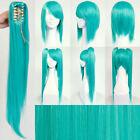 VOCALOID Hatsune Miku Long Teal Wig Hair for Japanese Anime Cosplay/Halloween