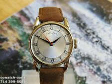 1945 Vintage HAMILTON SECOMETER, Beautiful Dial, Serviced, One Year warranty