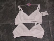 Ex store Marks & Spencer 28A girls first bra 2 pack BNWT