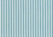 Mulberry Enterprises Paysage Stripe Blue Off White  Cotton Drapery Upholstery