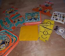 Minion birthday party supplies new and used