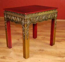 Asiatischer Tisch in Moasaik-Look, Beistelltisch, Nachttisch, Möbel, Thai, Bali