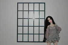 windows for dolls dollhouse for old fabric 10x7 inches 1 pcs Diorama