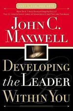 Developing the Leader Within You PB by John Maxwell