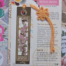 Metal Bookmark Korea Gracious Plant Freeshipping