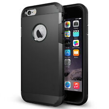 STEALTH BLACK TOUGH ARMOUR SHOCK CASE FOR IPHONE 5 & 5S LIKE SPIGEN LIFEPROOF