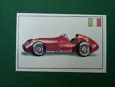 N°226 FERRARI 500/F2 ITALIE 1951 PANINI 1972 HISTOIRE DE L'AUTOMOBILE