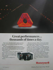 3/1991 PUB HONEYWELL LASER IRS INERTIAL REFERENCE SYSTEMS AIRLINE ORIGINAL AD