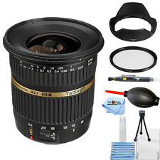 Tamron SP AF 10-24mm f / 3.5-4.5 DI II Zoom Lens - Canon DSLRs STARTER KIT NEW!!