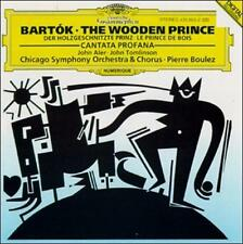 Béla Bartók: Cantata Profana; The Wooden Prince (CD, Feb-1993, DG Deutsche Gramm